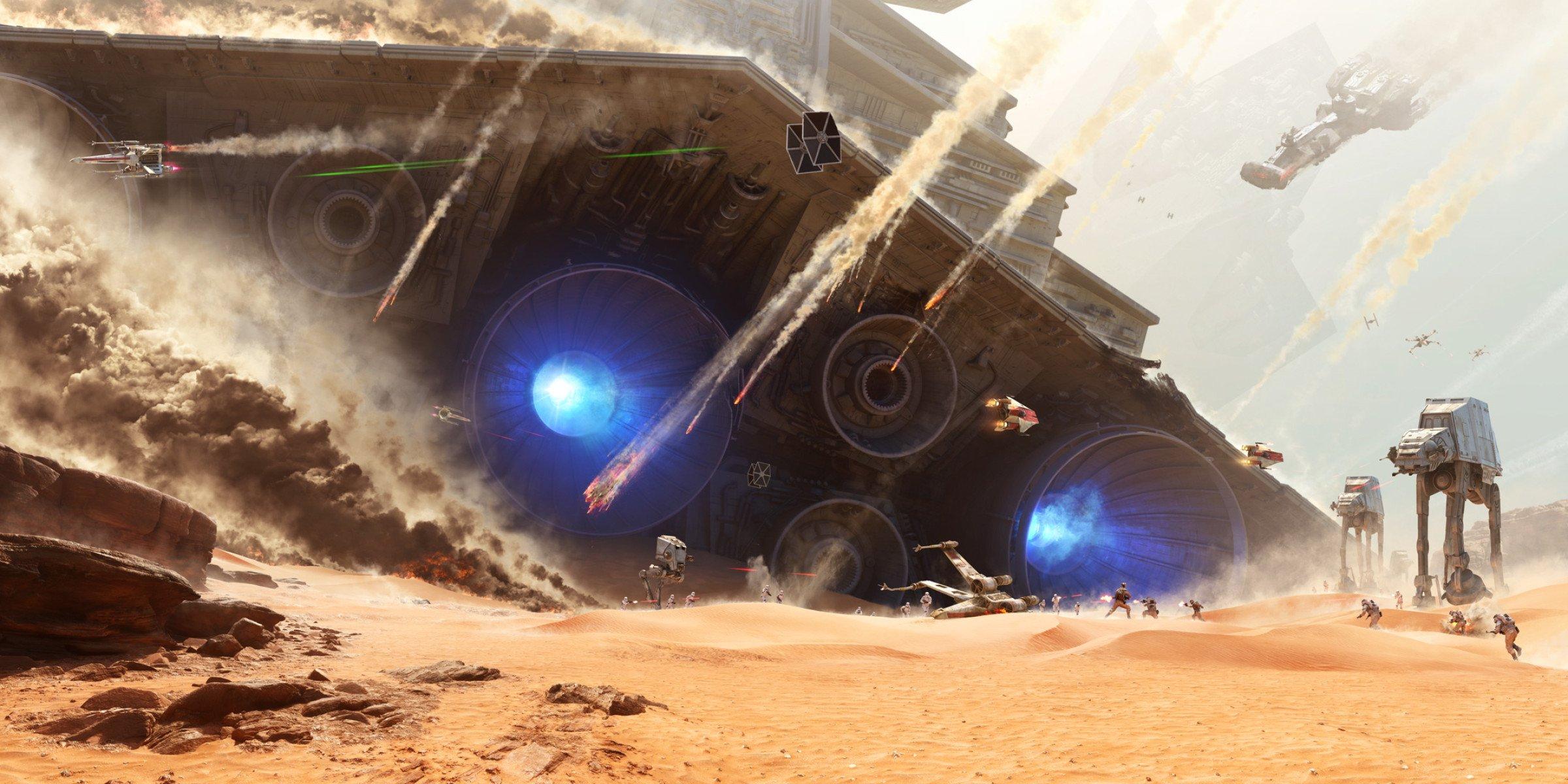 EA Previews the Battle of Jakku in Star Wars Battlefront 2400x1200