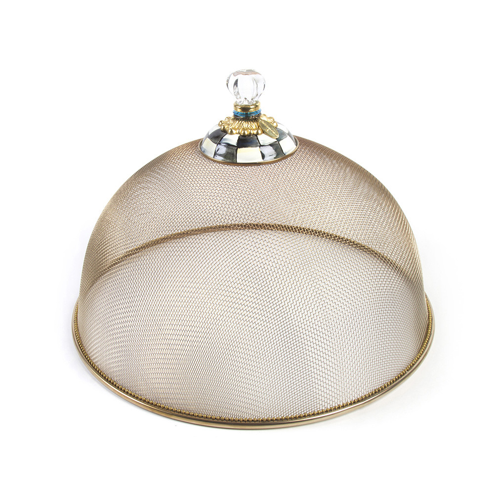 MacKenzie Childs Courtly Check Mesh Dome   Large at Amara 1000x1000