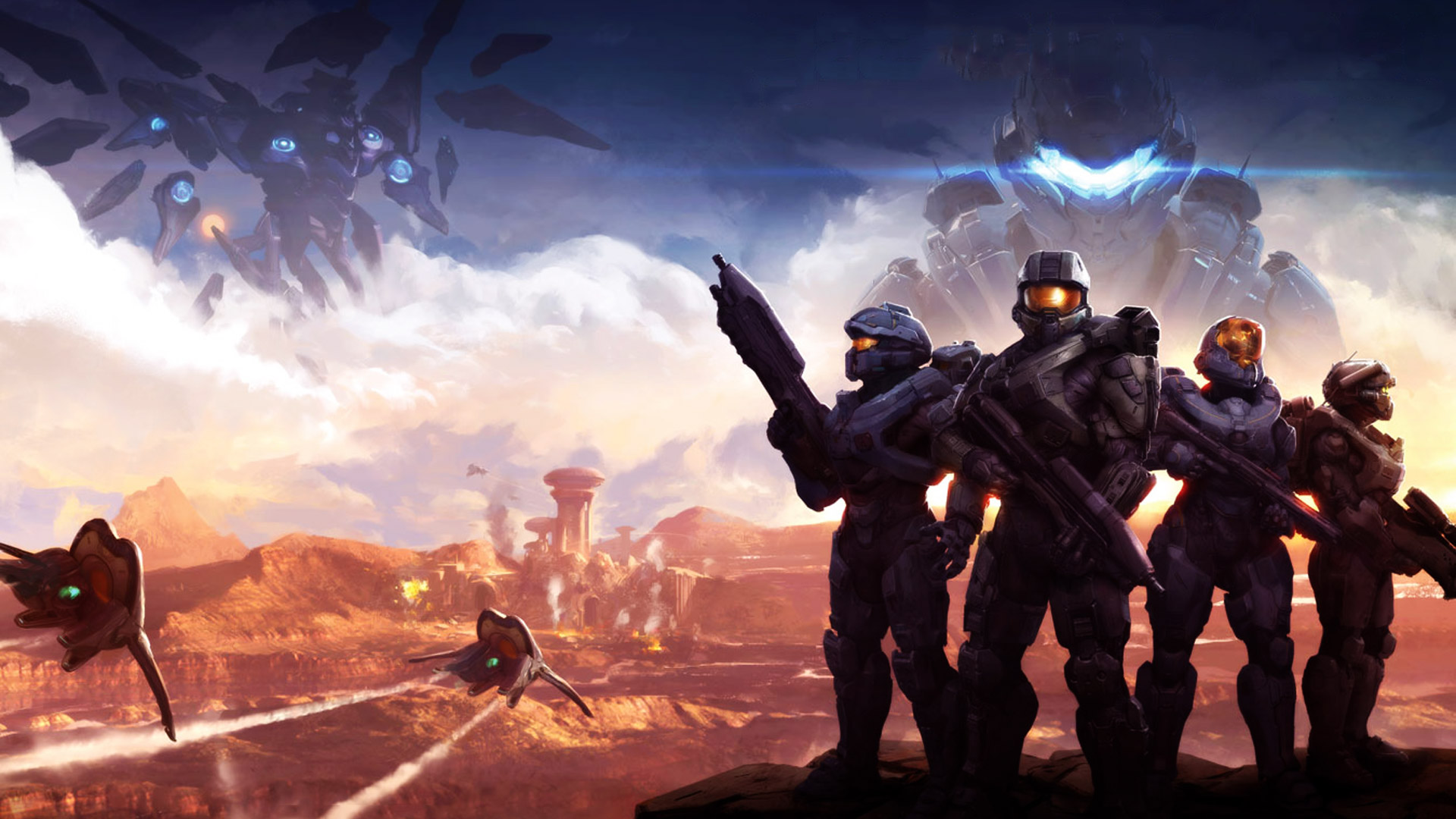 Halo 5 Guardians Wallpaper in 1920x1080 1920x1080