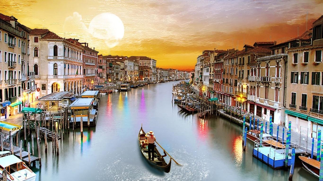 Venice Italy Tourism 1366 x 768 Download Close 1366x768
