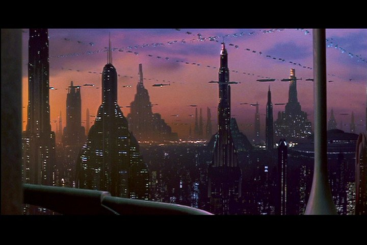 Coruscant skyline wallpaper coruscant wallpaper wallpapersafari