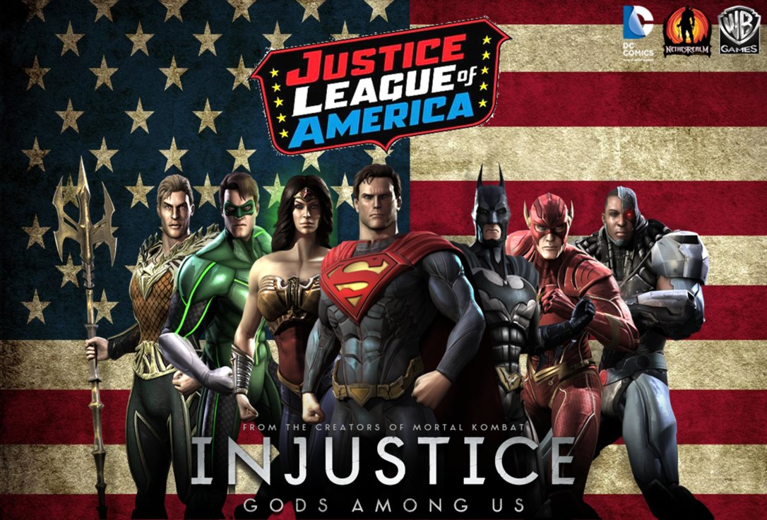 Injustice Justice League Wallpaper by NerdyOwl299 1086x736