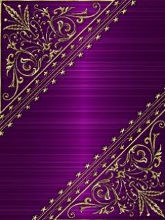 Purple And Gold Wallpapers Wallpapersafari