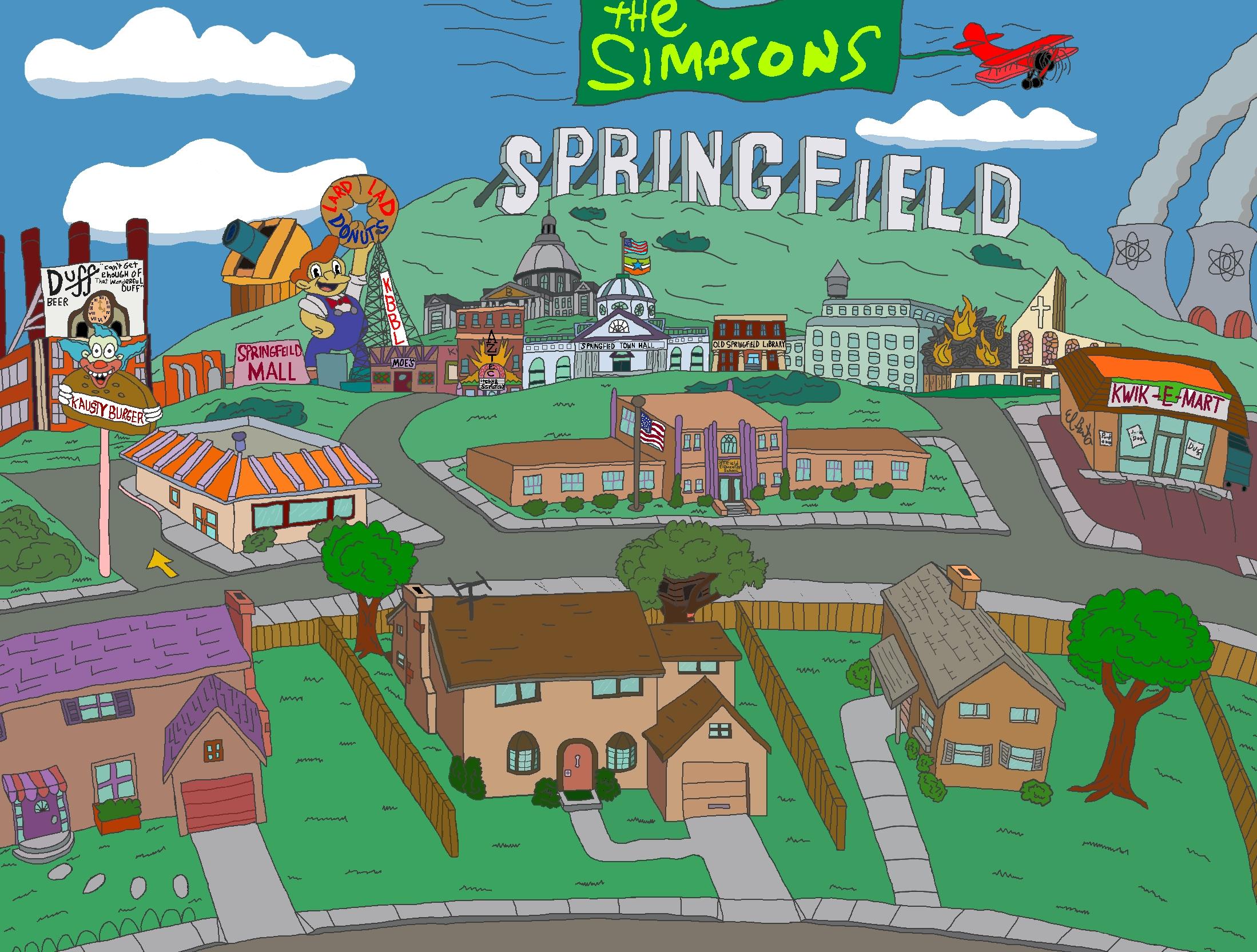 Bild Springfieldjpg Simpsonpedia die gelbste Enzyklopdie1920. ← Wallpaper World Springfield MO
