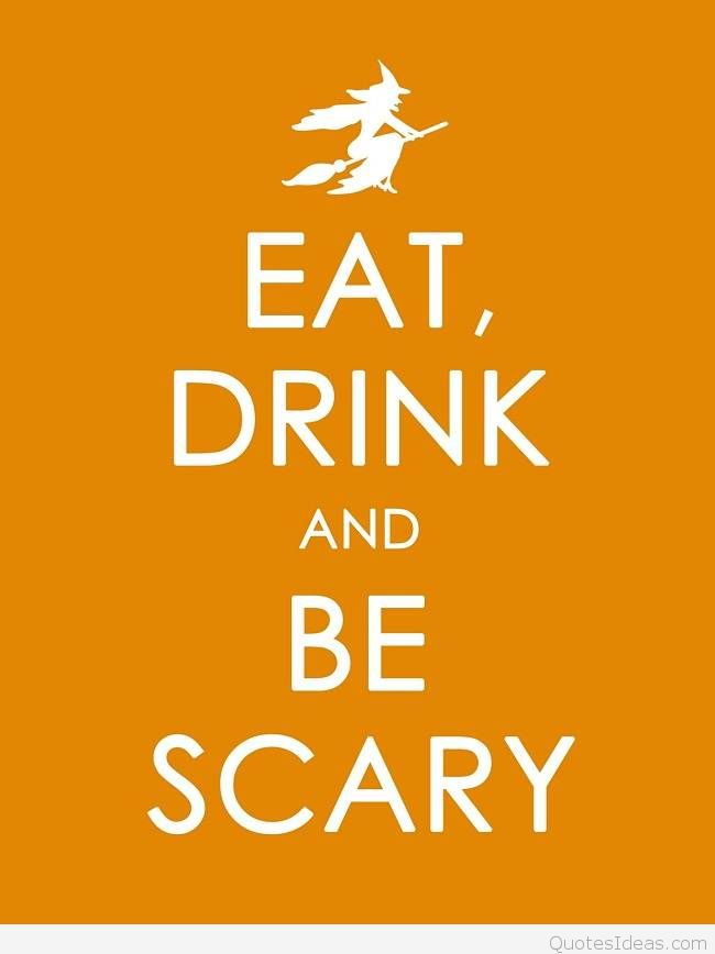 Best funny Halloween quotes cards wallpapers 650x868