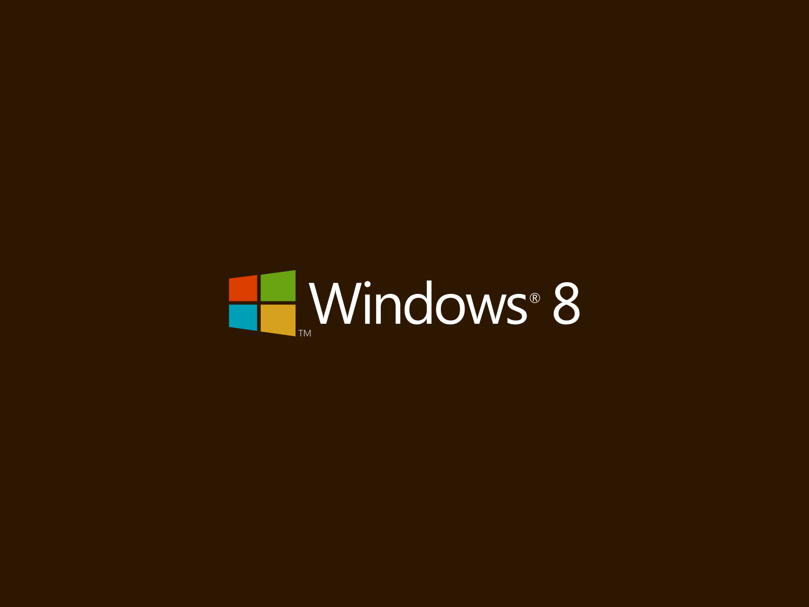 1600x1200 Windows 8 Brown Background desktop PC and Mac wallpaper 1600x1200