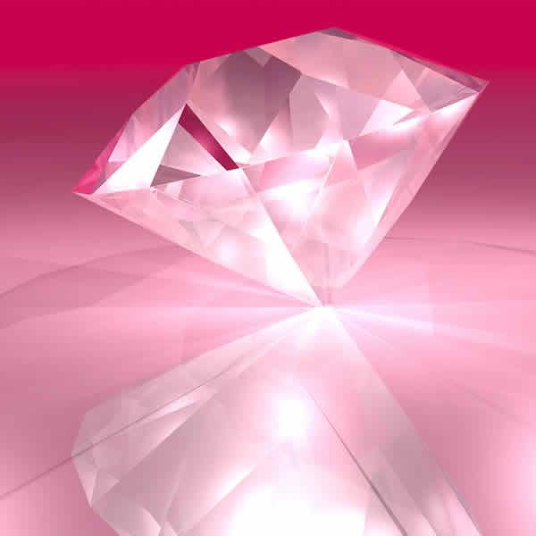 Pink diamonds wallpaper wallpapersafari - Wallpaper 600x600 ...