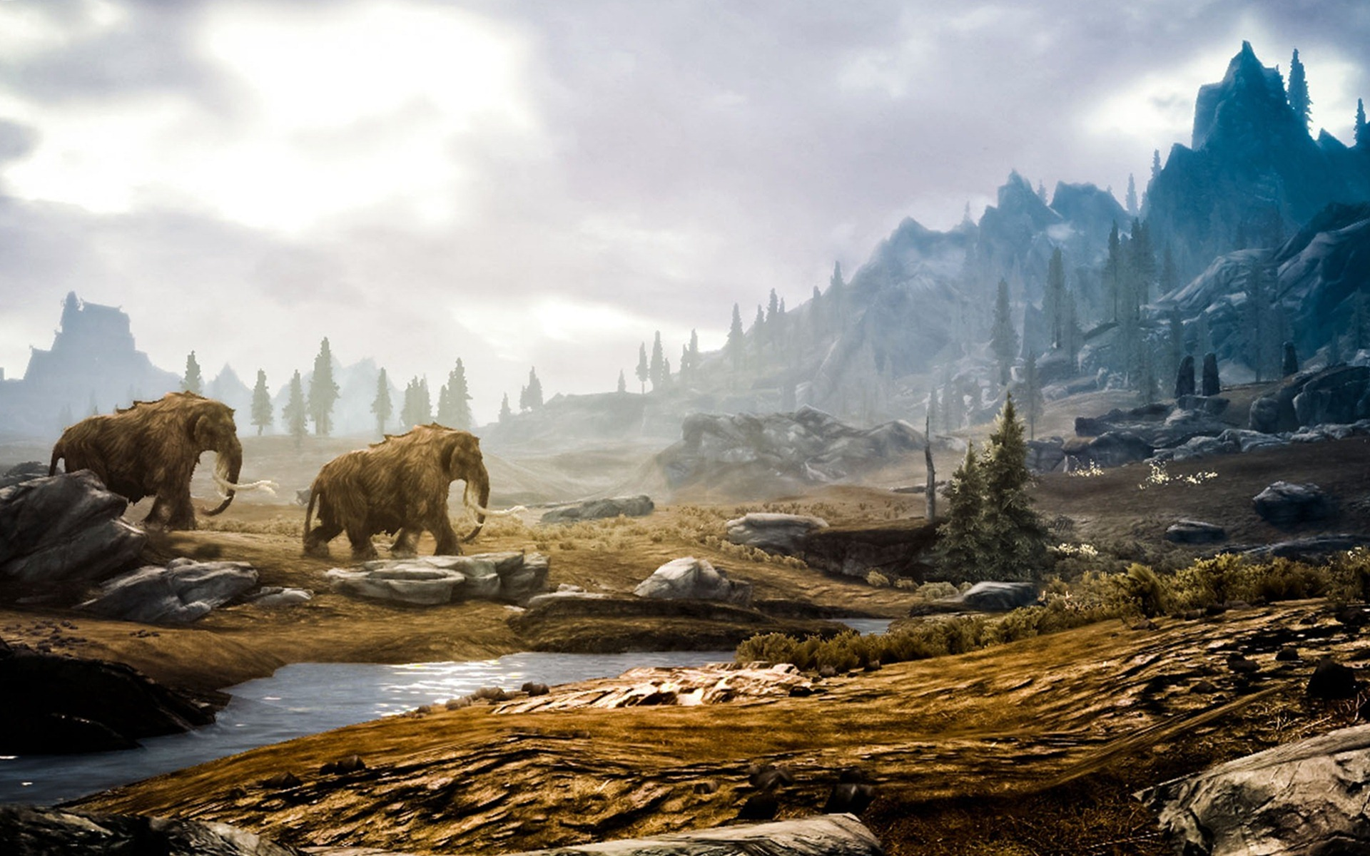 Most Beautiful Skyrim Landscape PhotosHD WallpapersImagesPictures 1920x1200