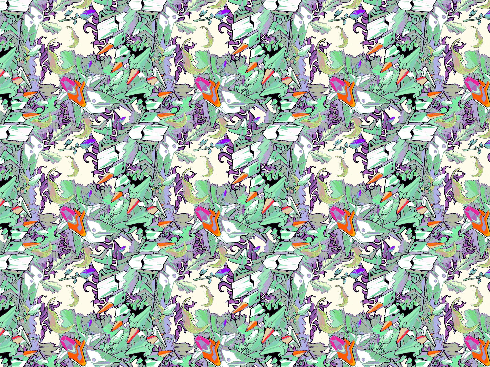 Wallpaper pattern design 11 Edouard Artus 2012 Edouard Artus 2000x1500