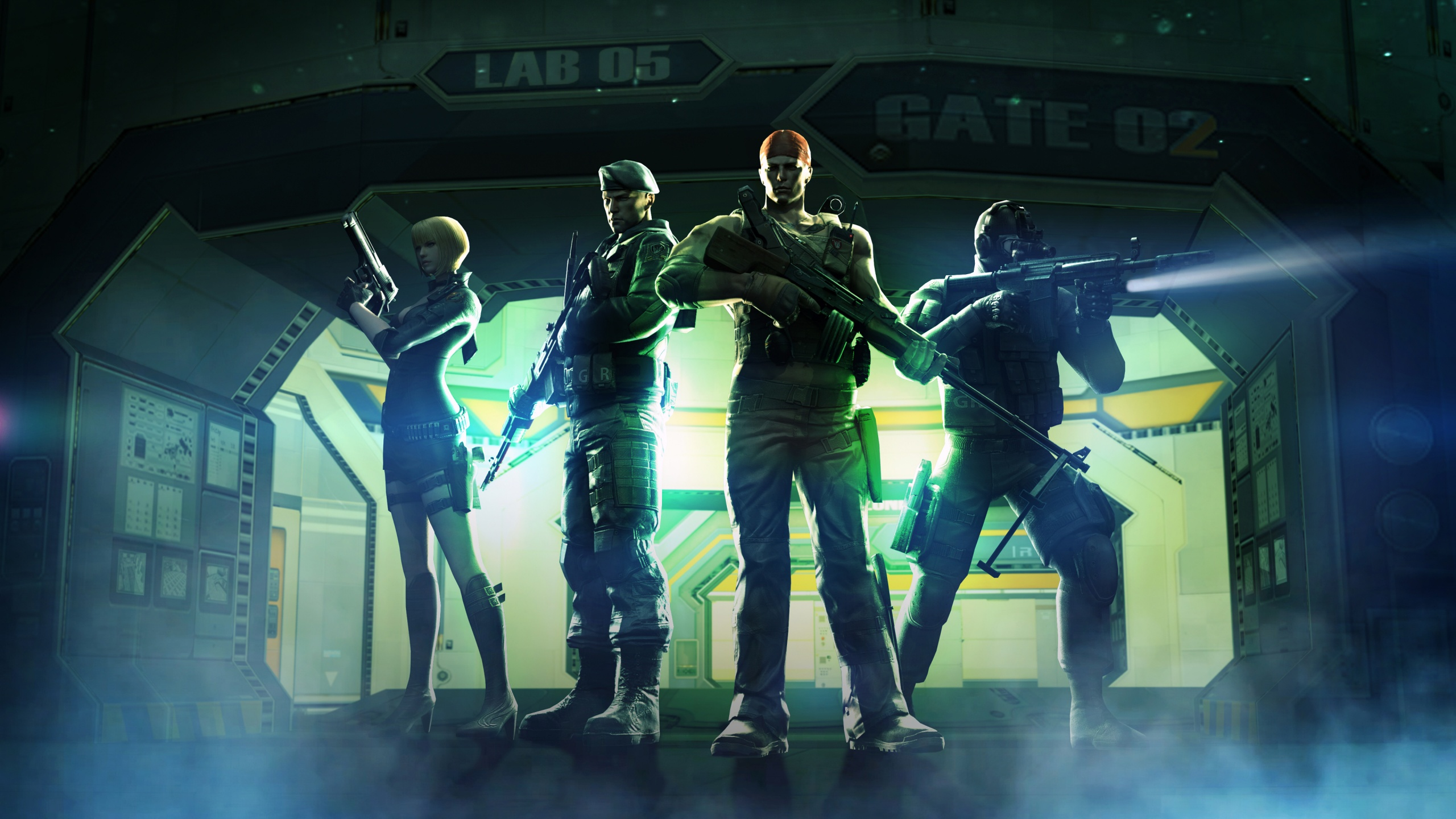 CrossFire Thunder Vault Wallpapers HD Wallpapers 2560x1440