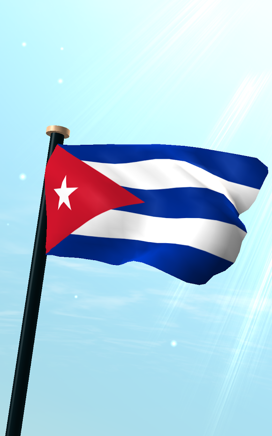 Cuba Flag 3D Wallpaper   Android Apps on Google Play 562x900