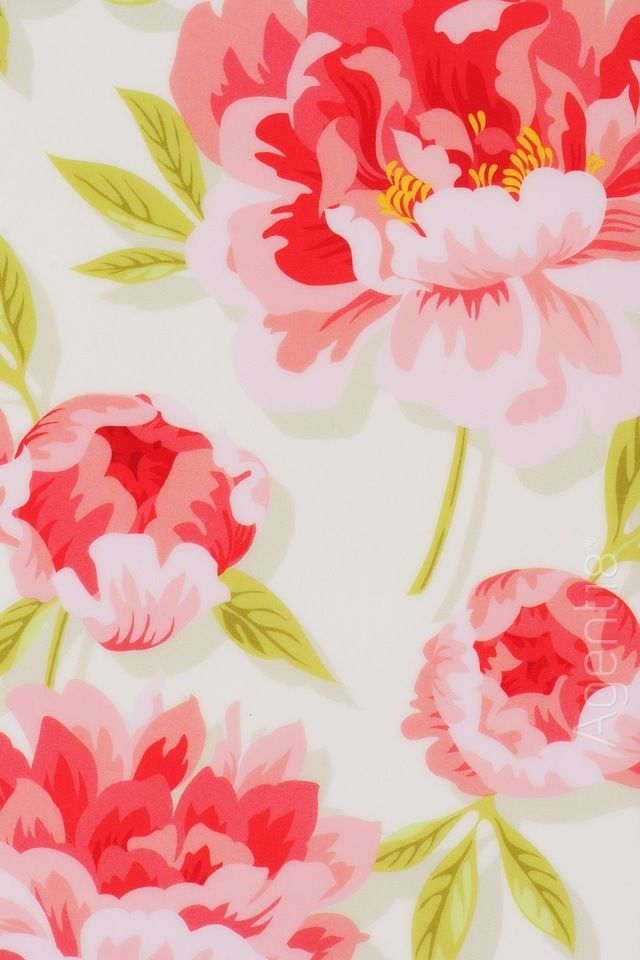 floral iPhone wallpaper Beautiful Prints Pinterest 640x960