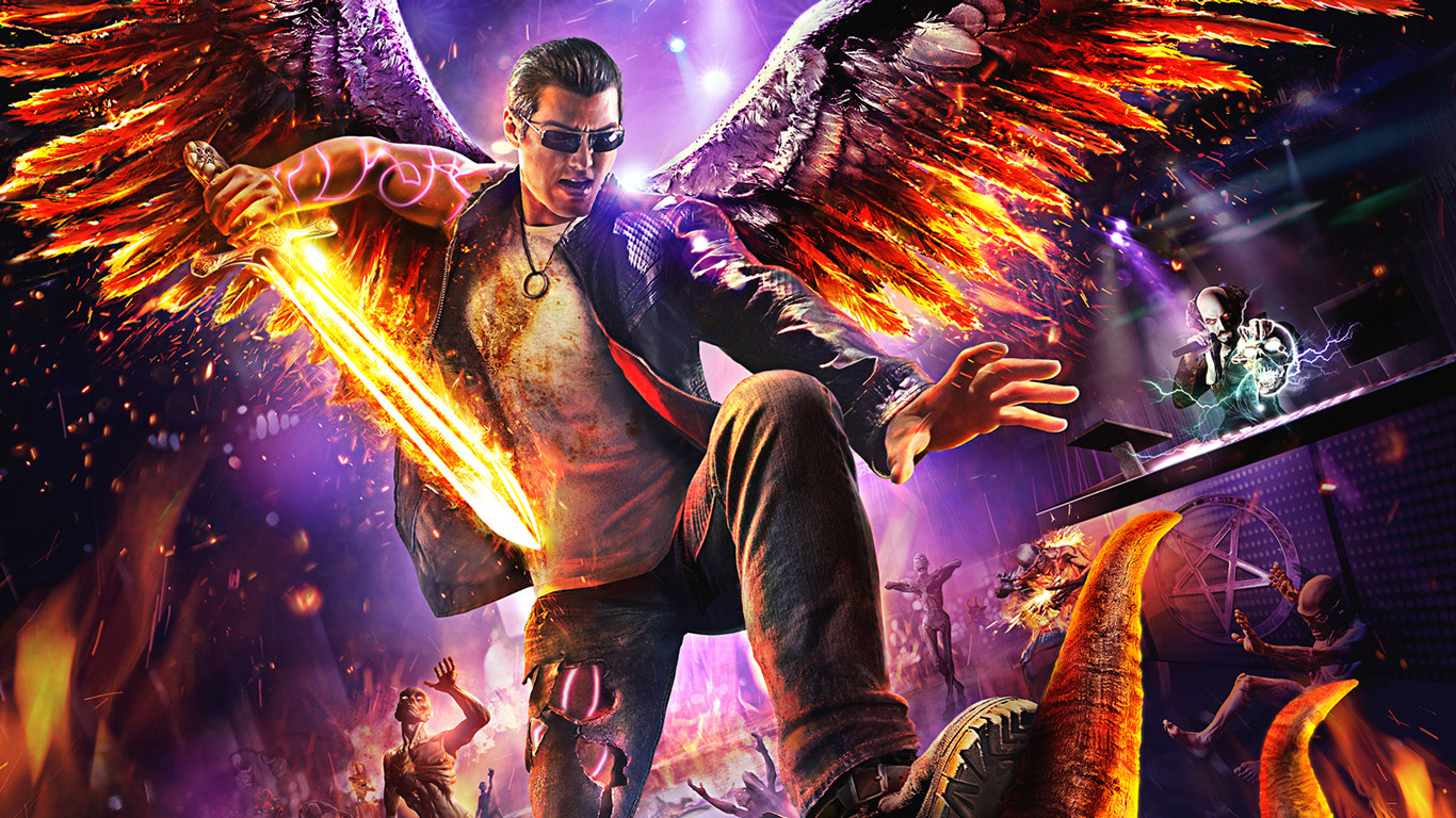 Free Download Saints Row Gat Out Of Hell Wallpaper In 1366x768