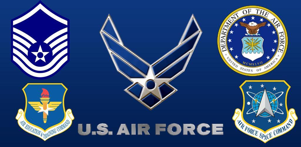 Us Air Force Logo Wallpaper PicsWallpapercom 1024x500