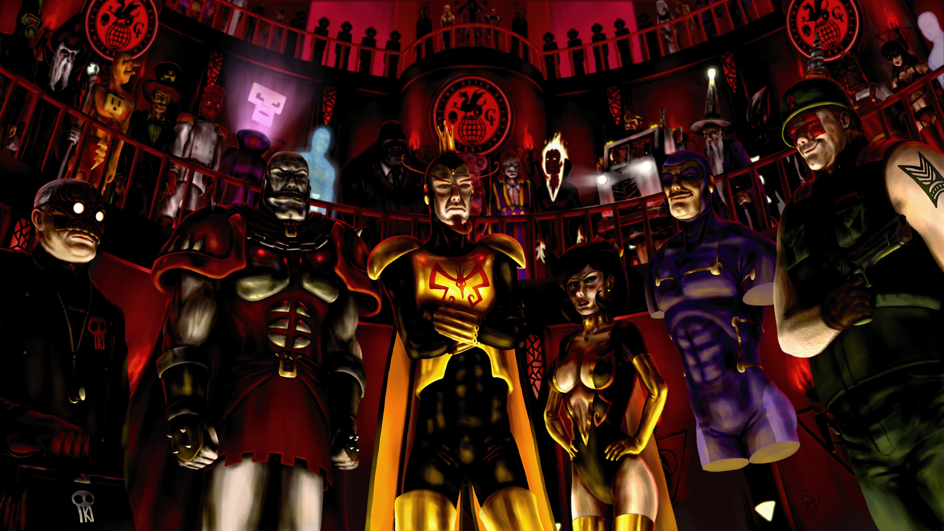 The Venture Bros HD Wallpaper Background Image 1920x1080 ID 1920x1080