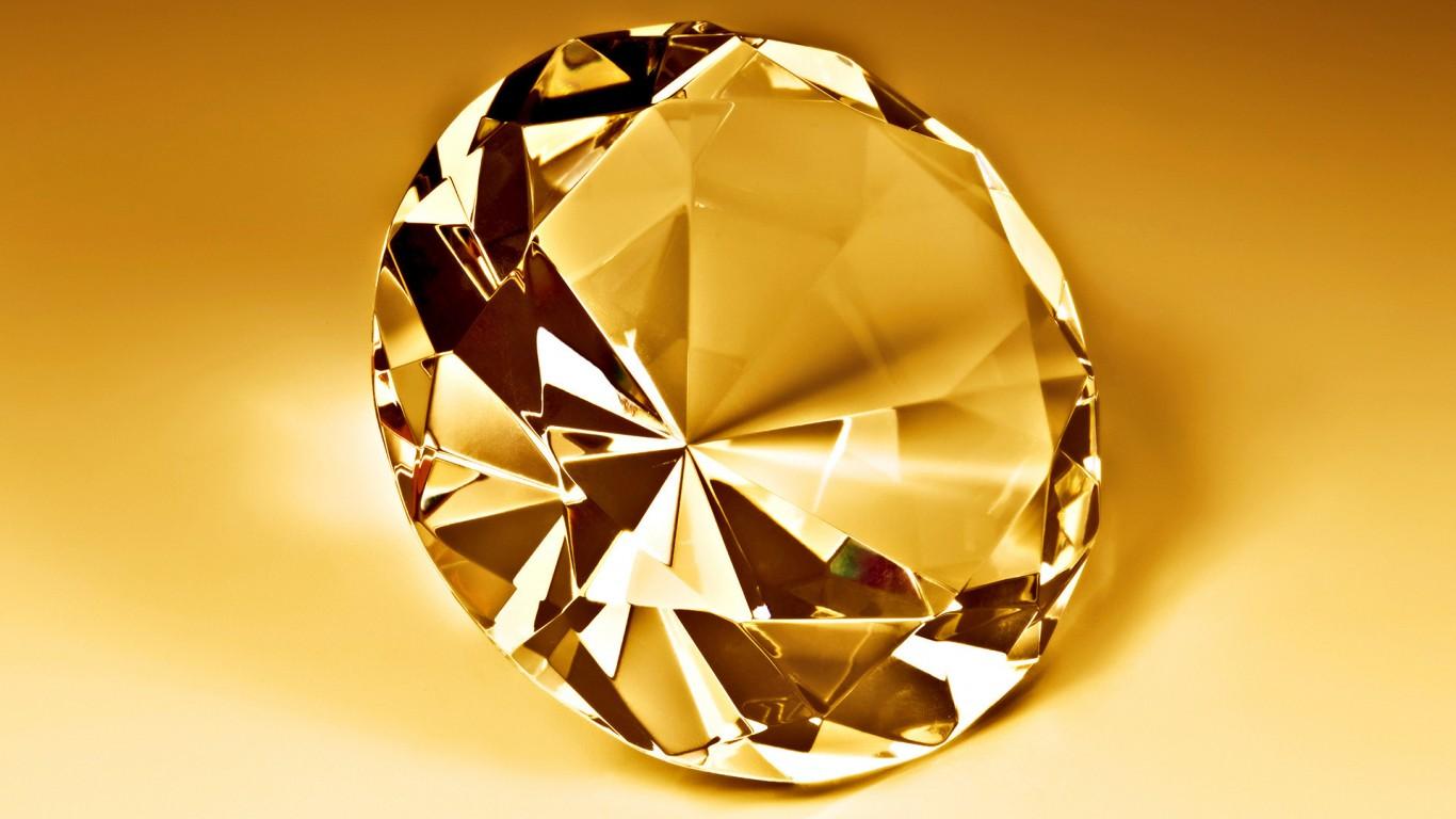 Diamond HD Wallpaper 1366x768