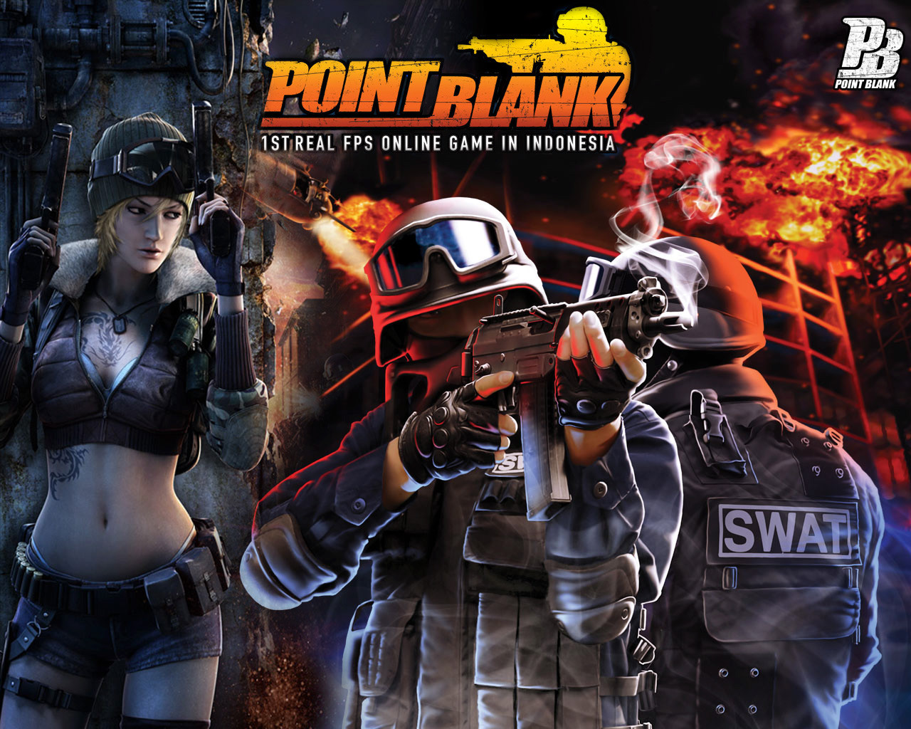 Free Download Wallpapers Point Blank Terbaru 2015 1280x1024