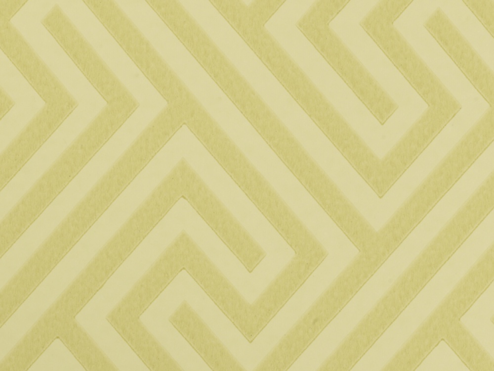 Geometric wallpaper can make a room look neat organized and stylish 1000x750