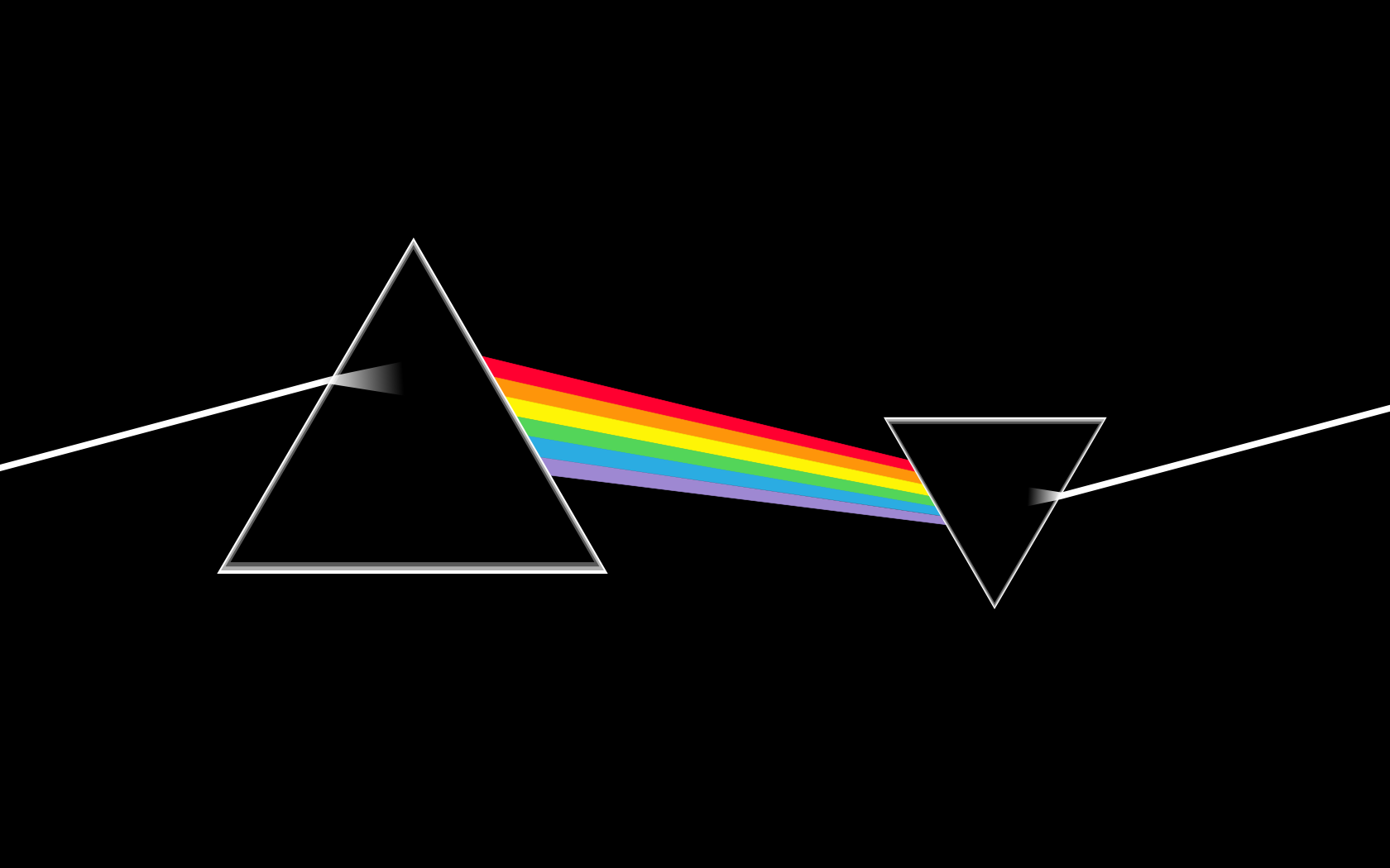 Pink Floyd Dark Side Of The Moon Large Wallpaper 1680x1050