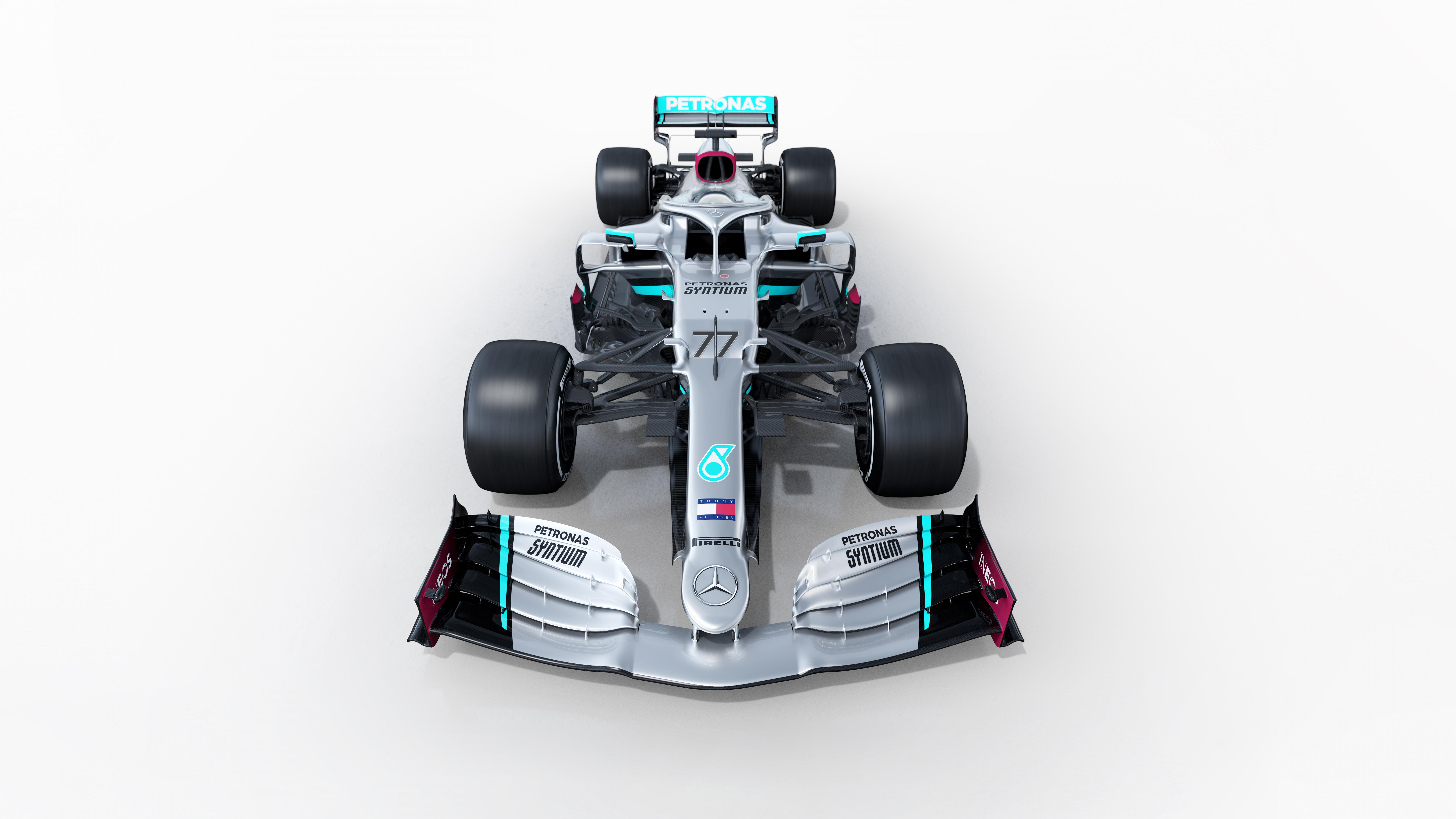 Mercedes AMG F1 W11 EQ Performance 2020 4K 8K Wallpaper HD Car 7680x4320