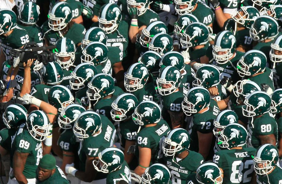 Michigan State Spartans   In Photos 2012 College Football Team 918x600