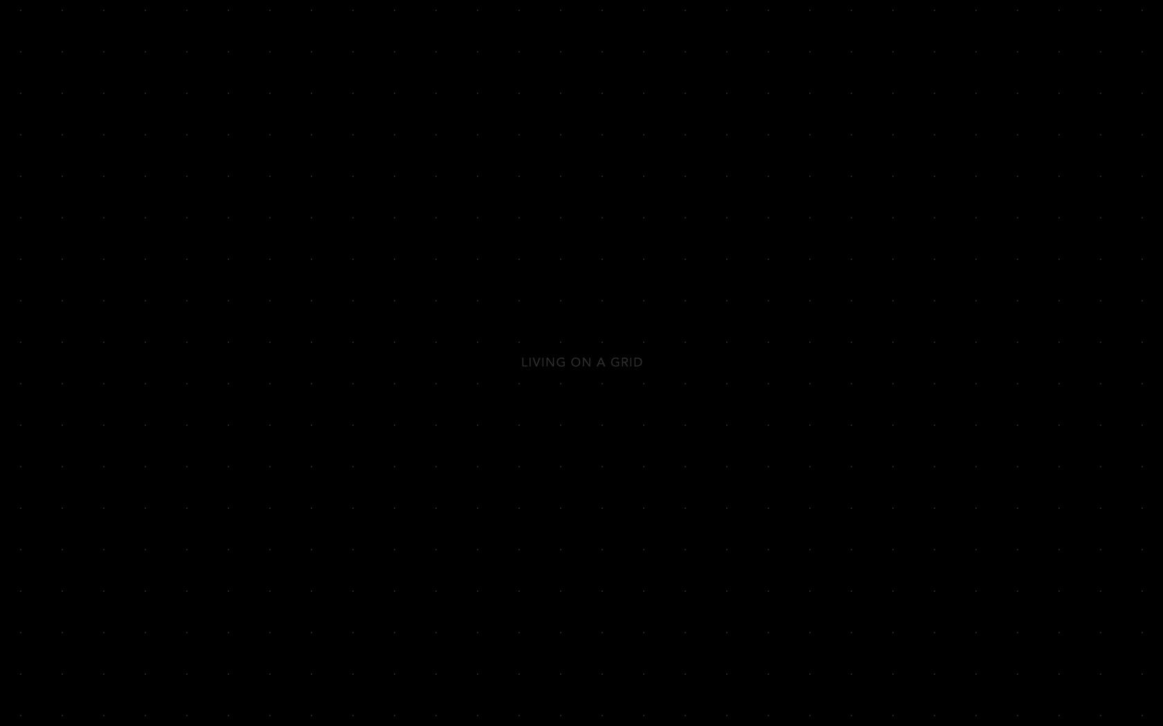 Dark Grid desktop background   jared erickson 1680x1050