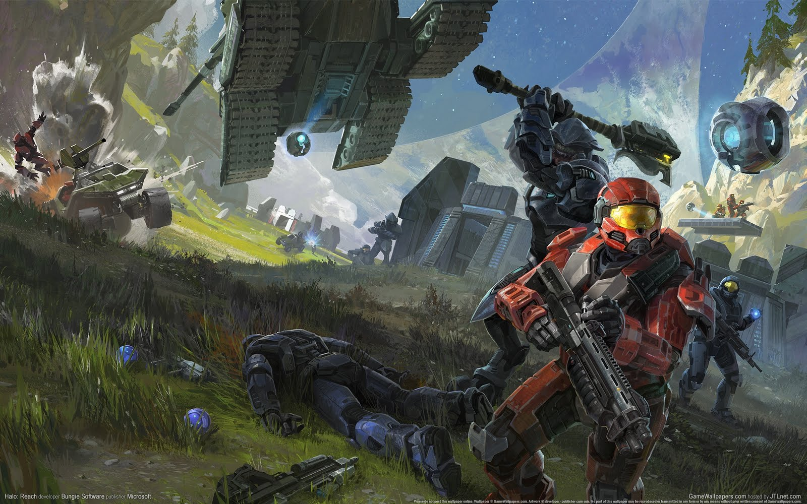 months ago halo tagged bungie halo reach xpx games hd four live 1600x1000