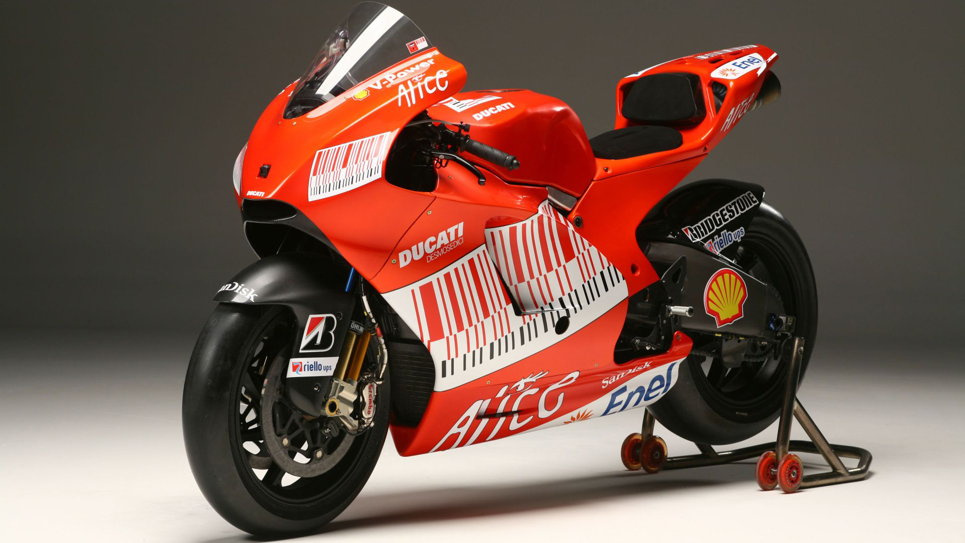 Ducati Sports Bikes wallpaper 1920x1080