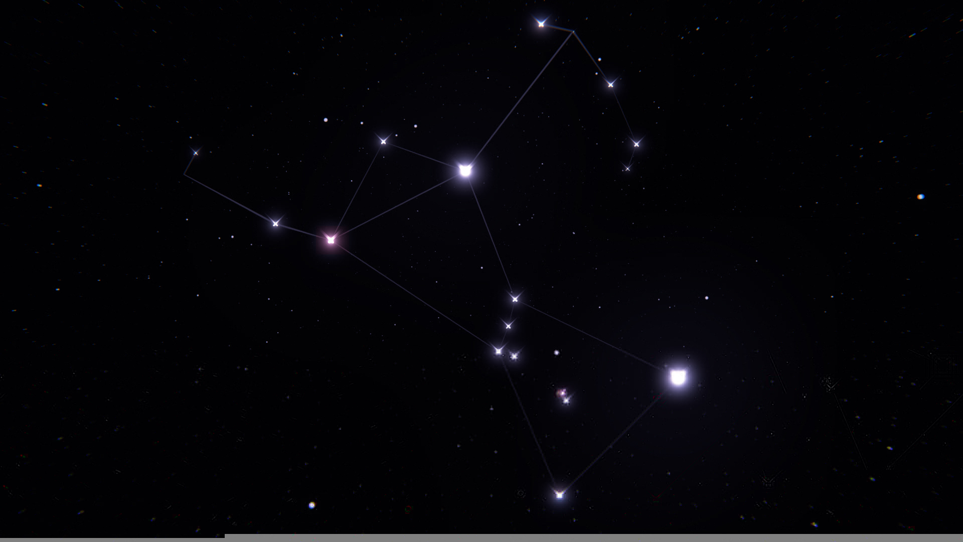 Wallpaper orion constellation stars space wallpapers space 1920x1080