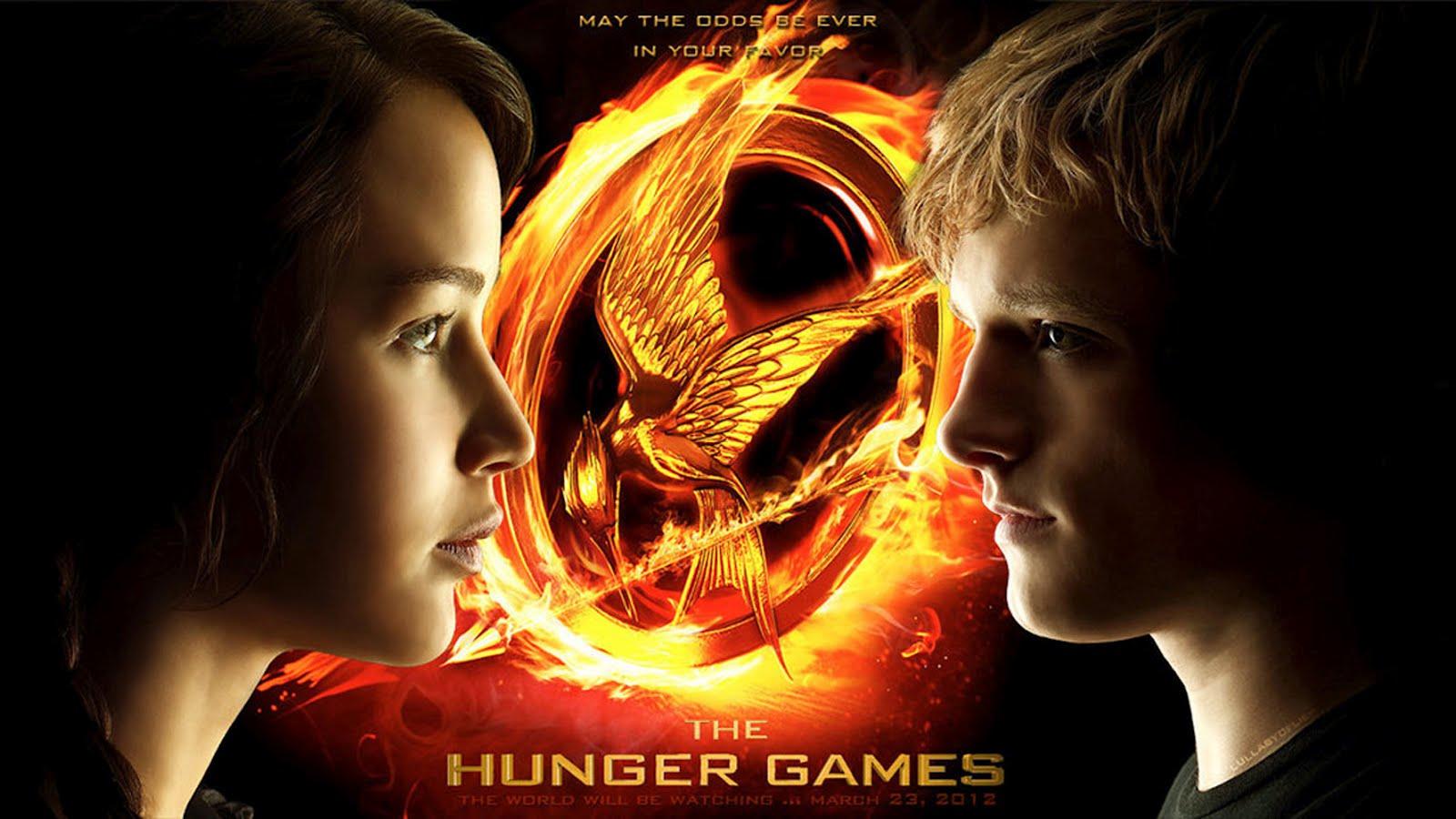 The Hunger Games 08 Wallpaper Katniss and Peetajpg 1600x900