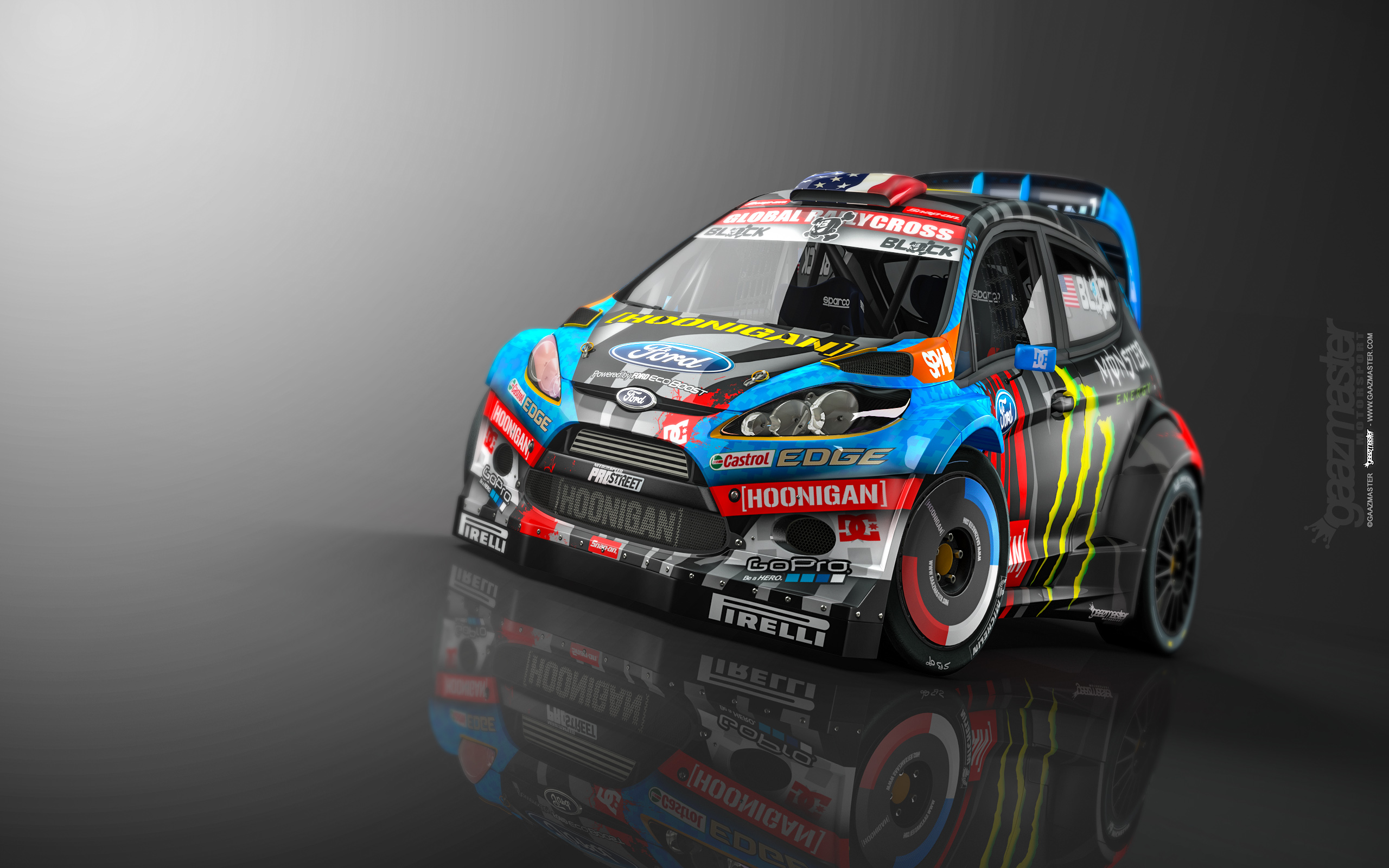 Ken Block Ford Fiesta 2015 Wallpaper Wallpapersafari