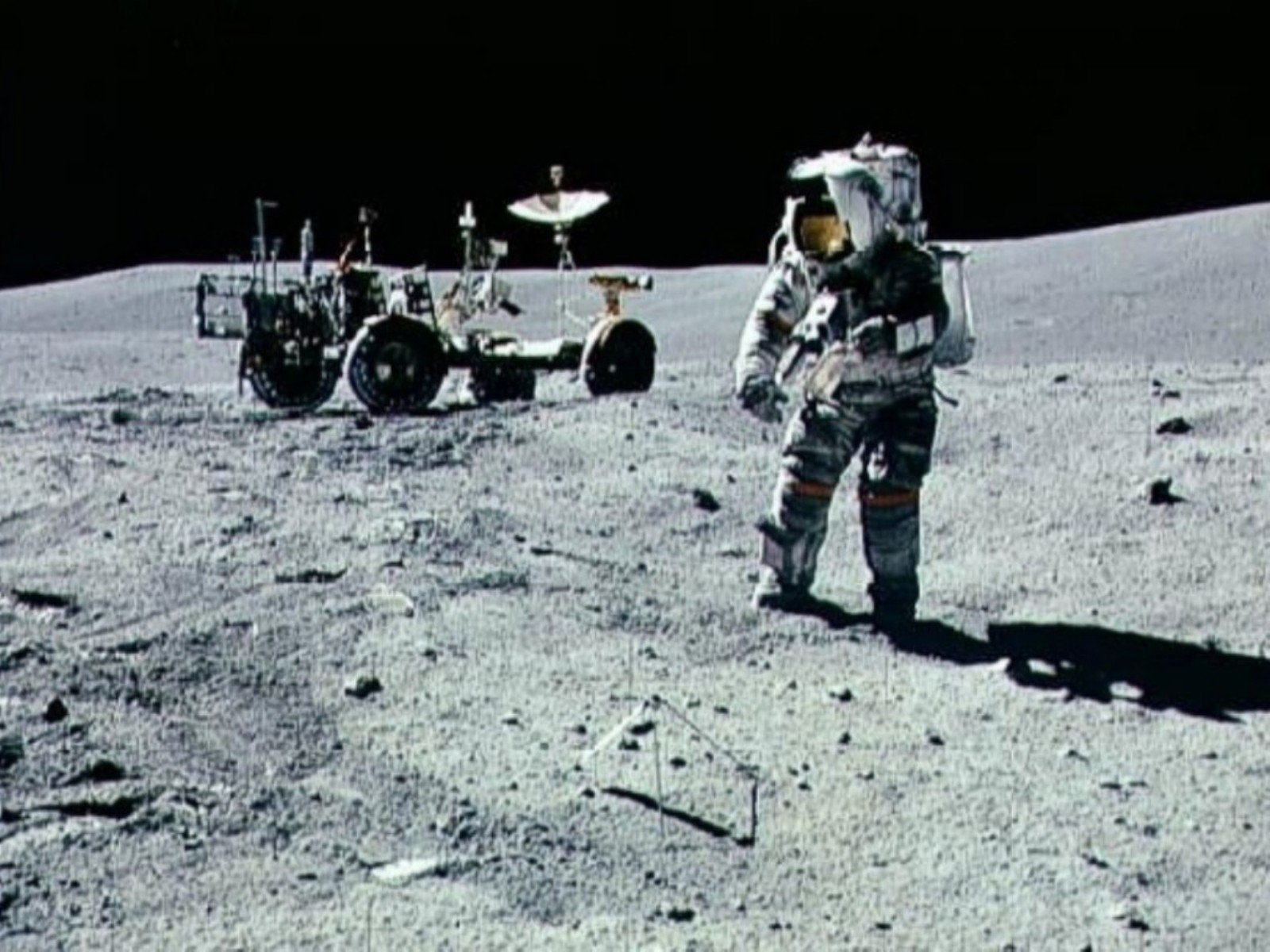 space Moon Astronaut Man Nasa America Mission Apollo 1600x1200