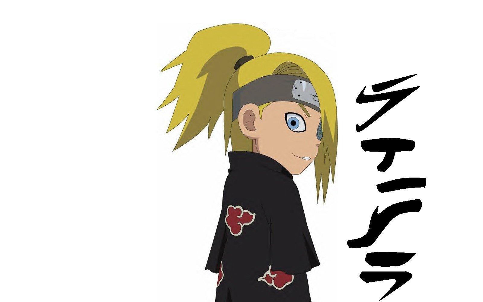 Chibi Naruto Wallpaper 1600x1000 Chibi Naruto Akatsuki Deidara 1600x1000
