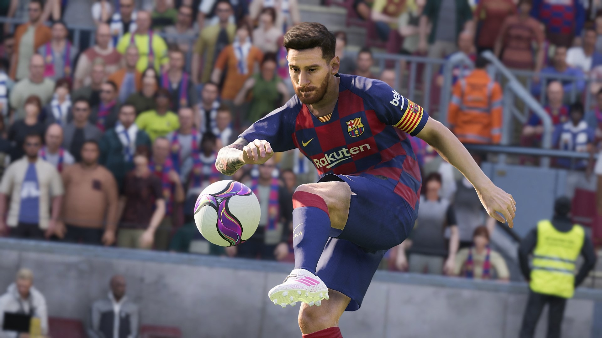 Lionel Messi In eFootball PES 2020 Wallpaper HD Games 4K 1920x1080