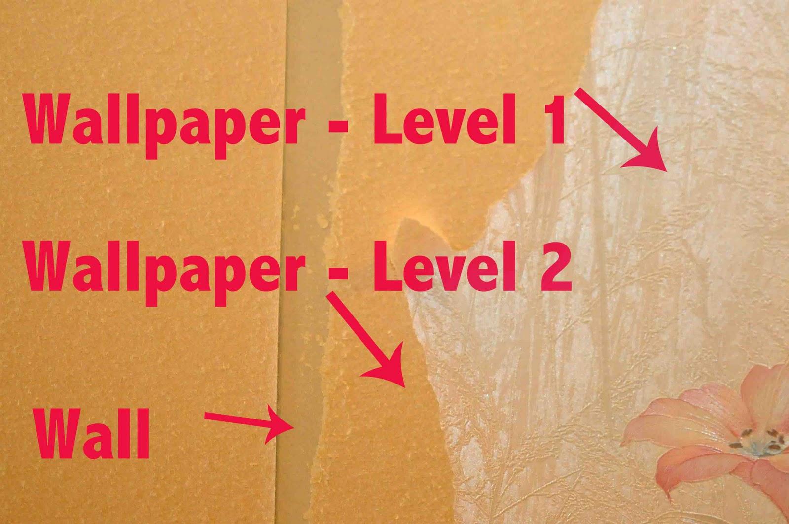 natural way to remove wallpaper glue
