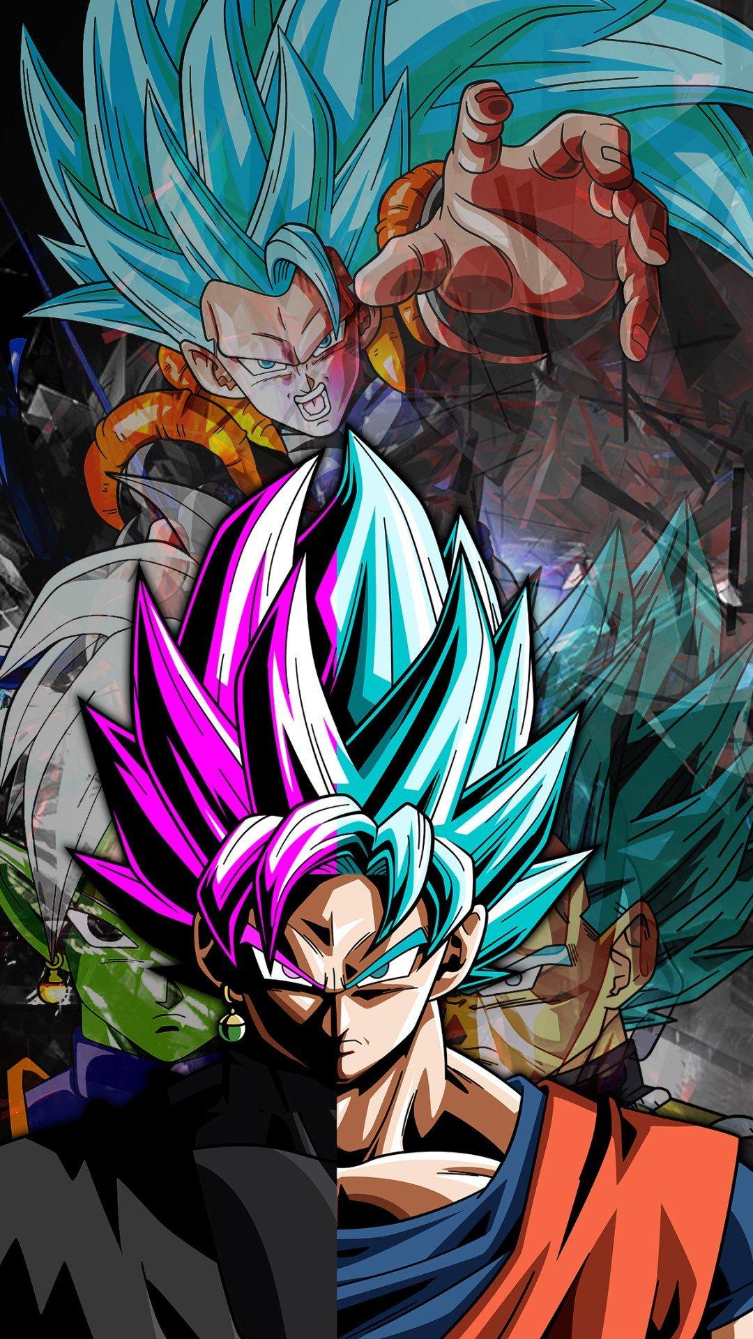 Son Goku Wallpaper Black Gambarku