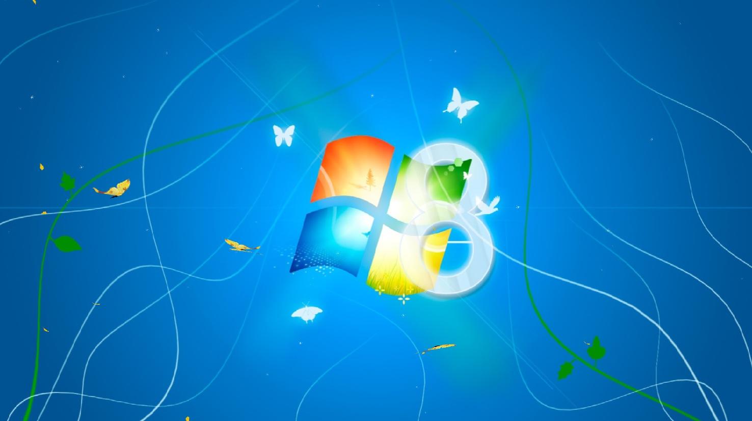 Windows 8 Light Animated Wallpaper full Windows 7 screenshot   Windows 1476x826