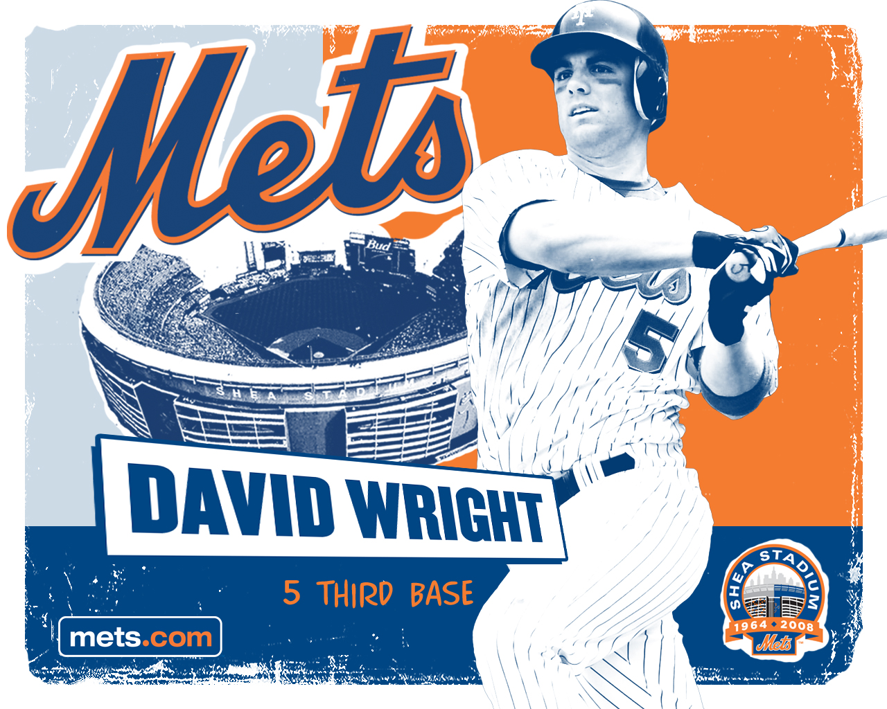 Download New York Mets wallpaper NY Mets David Wright 1280x1024
