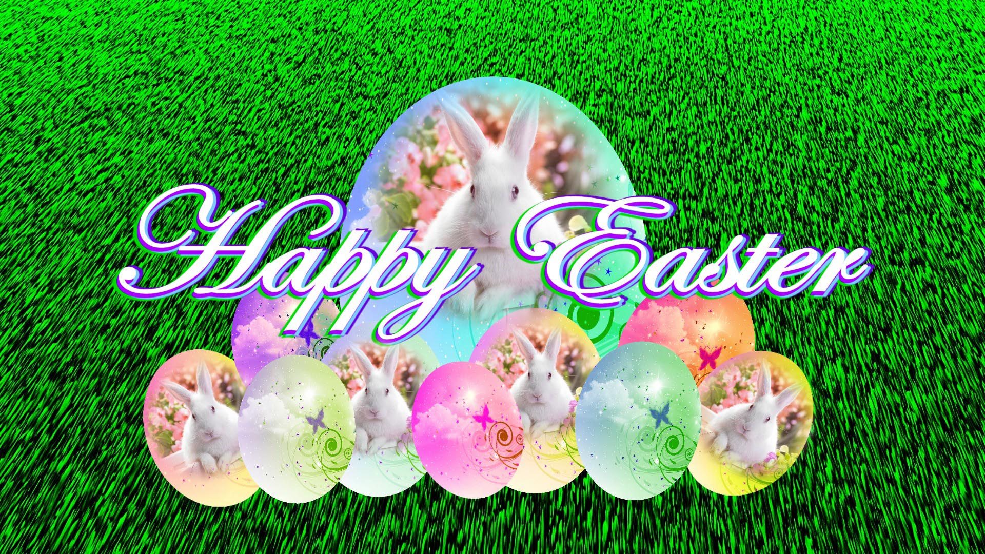 easter bunny eggs hd wallpaper   Background Wallpapers for 1920x1080