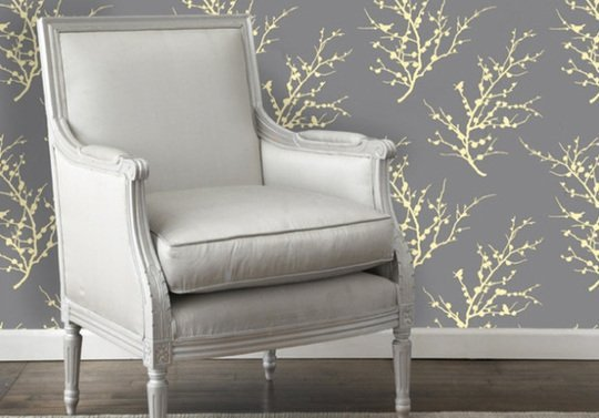 step by step how to post How To Make Removable Fabric Wallpaper 540x377