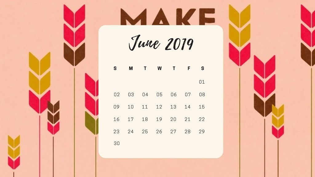 July 2019 Calendar Wallpaper wed easecom 1024x576