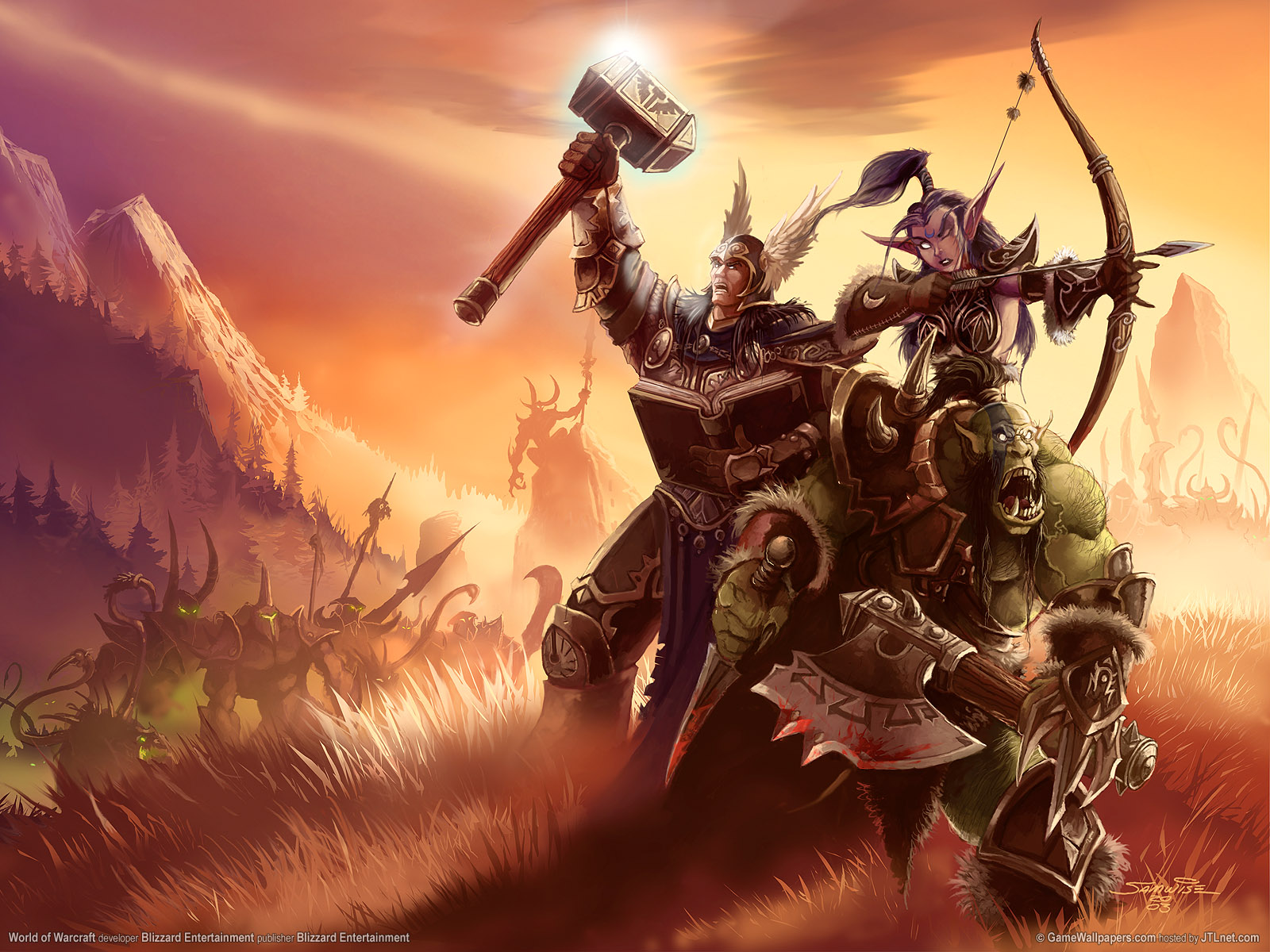 wallpaper world of warcraft 150x150 1600x1200