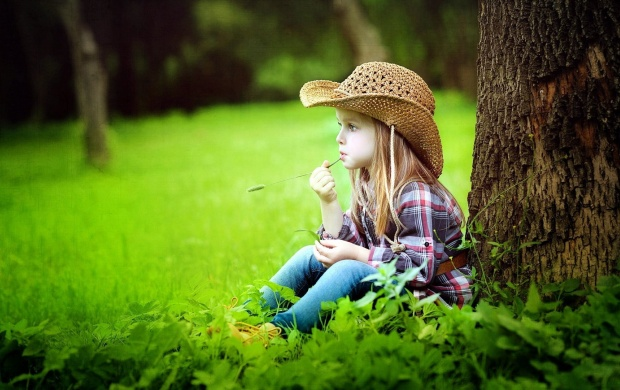 Cute Cowboy Girl click to view 620x390
