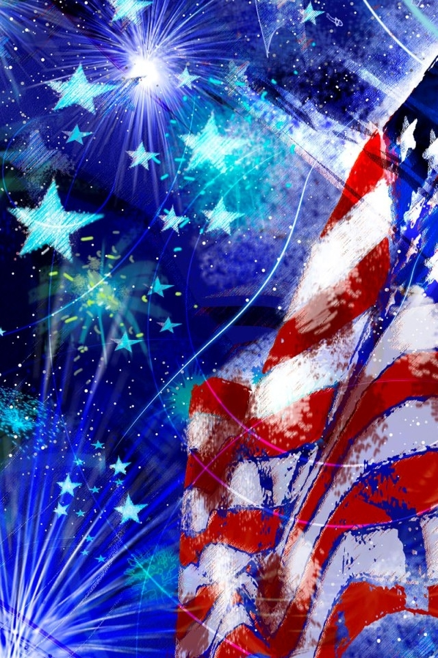 Cute 4th of July Wallp...