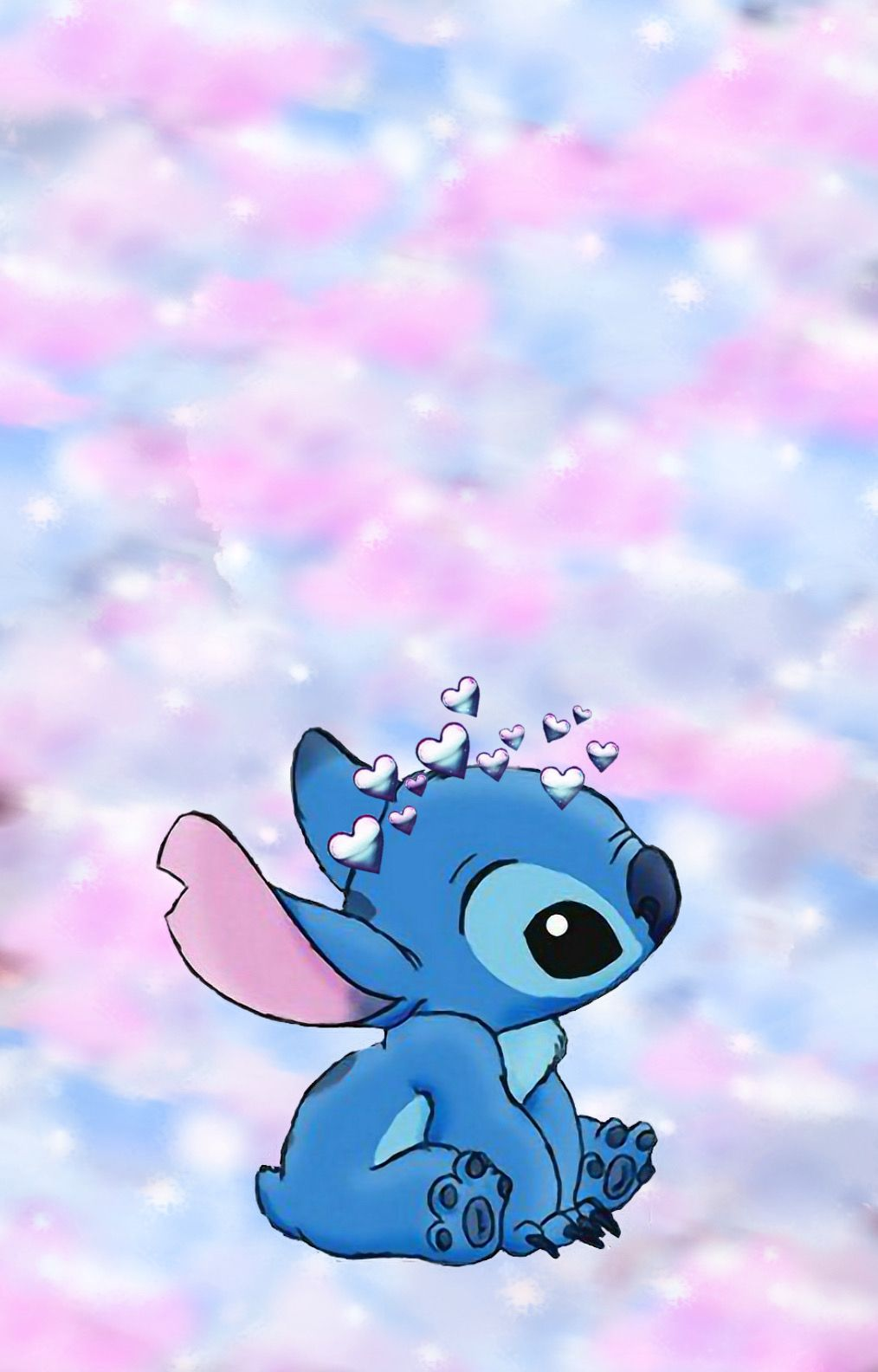 Stitch wallpaper in 2020 Cartoon wallpaper iphone Cute tumblr 1014x1584