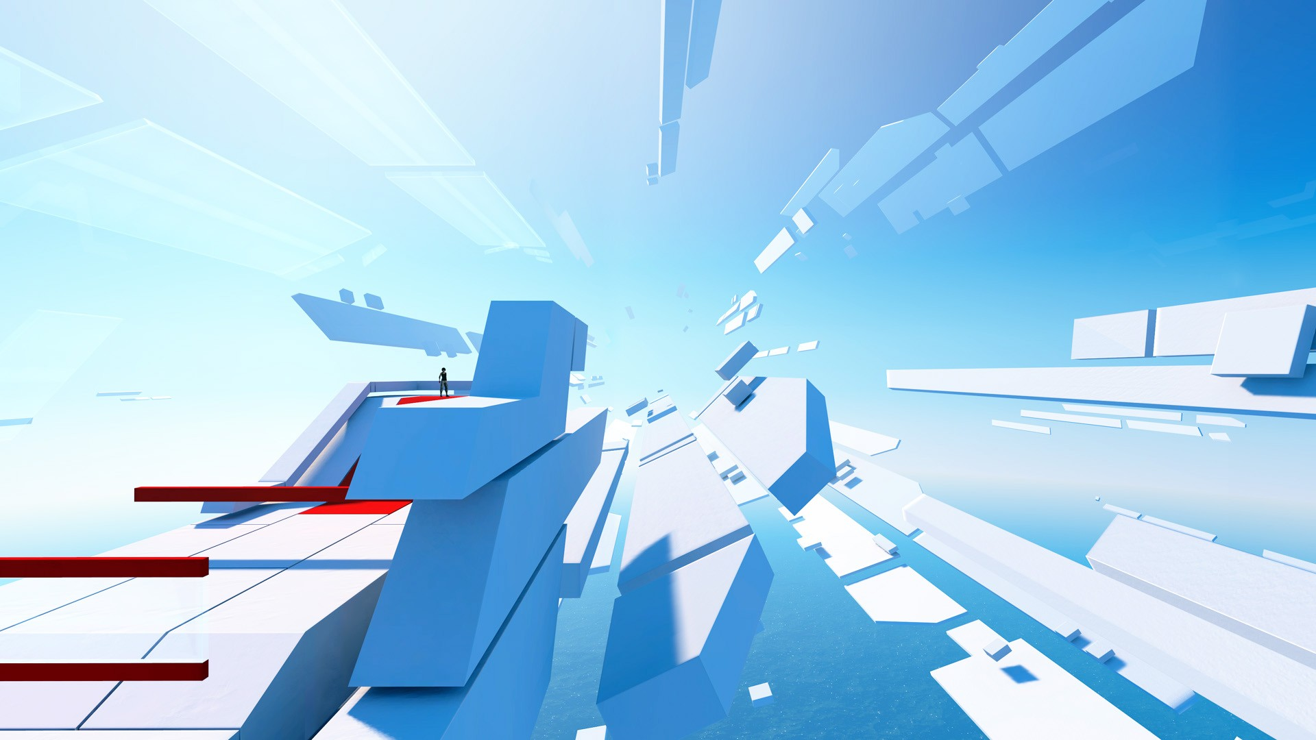 mirrors edge wallpaper background 1920x1080