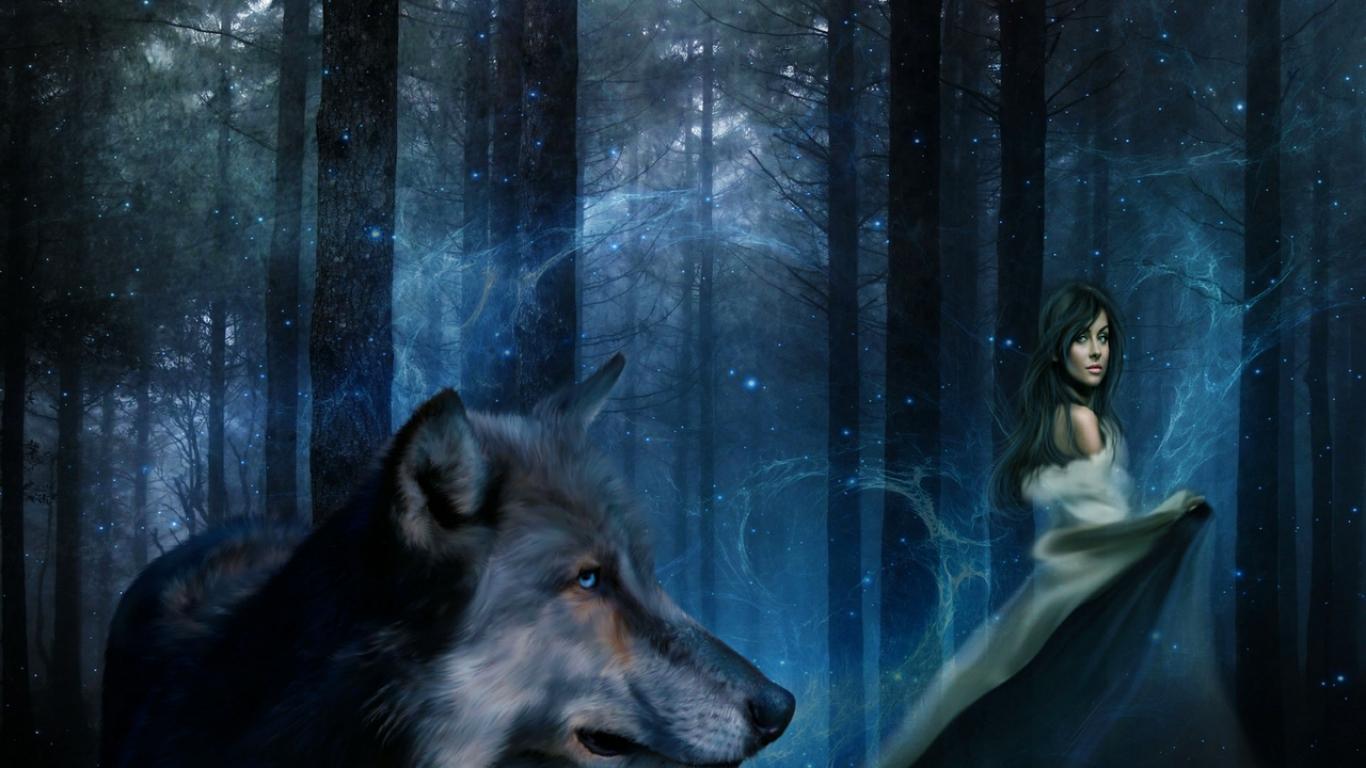 37 anime wolf girl wallpaper on wallpapersafari - Anime wolf wallpaper ...