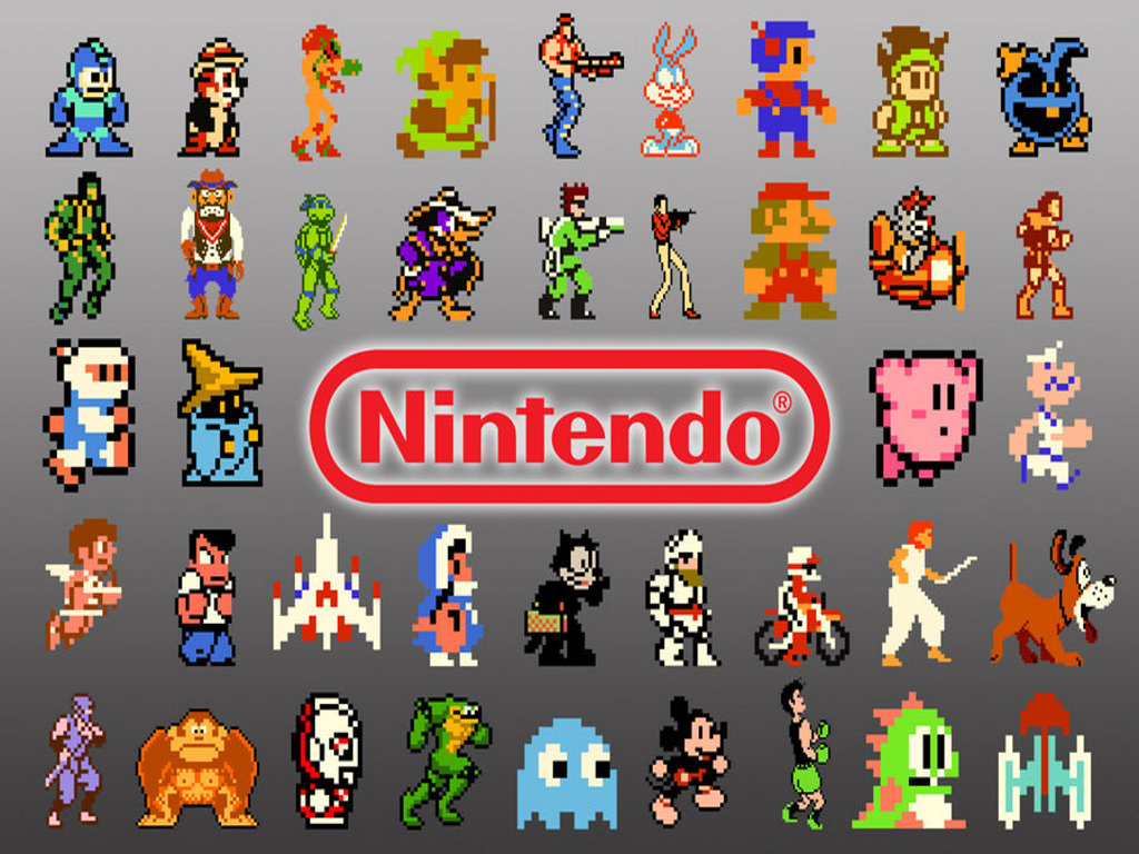 Retro NES wallpapers Retro NES stock photos 1024x768