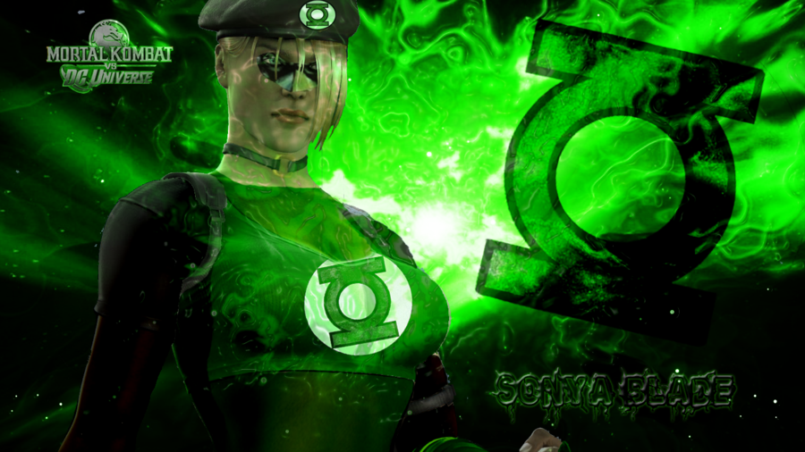 Sonya Blade as Green Lantern by xXiPhotoshopXx 900x506