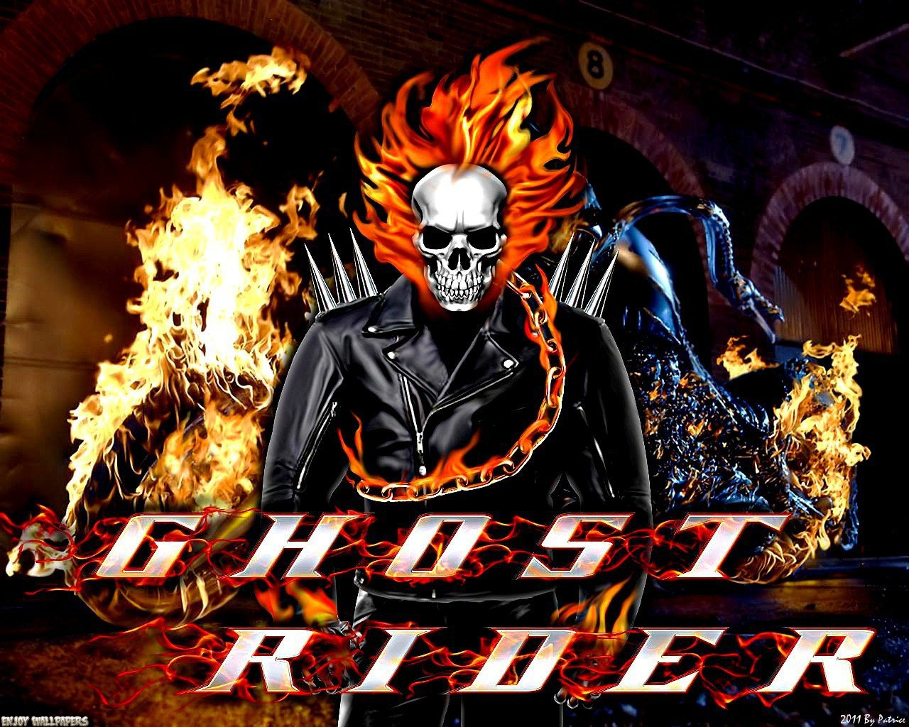Free Download Wallpaper Wallpaper Ghost Rider 2 Ghost Rider